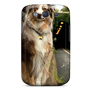 New Arrival Friendly Dog Waiting JCbUpUC5011XtRRl Case Cover/ S3 Galaxy Case by icecream design