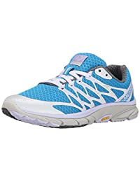 Merrell Women's Bare Access Ultra Trail Running Shoe, Silver, 6.5 M US