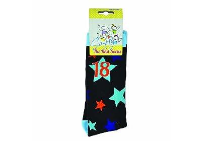 18th - simplemente el mejor regalo de cumpleaños 18 años viejos calcetines de regalo