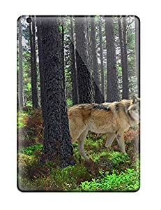 New Fashion Premium Tpu Case Cover For Ipad Air - Wolf Animal Predator