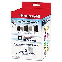 Honeywell Allergen Remover Replacement HEPA Filters, 3/Pack