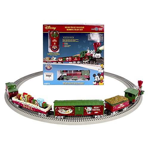 Lionel Mickeys Holiday to Remember Disney Christmas Set (Christmas Disney Train)
