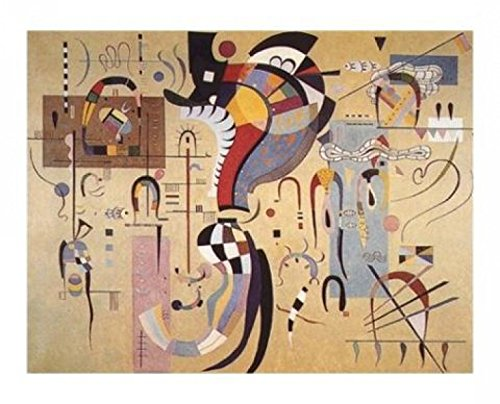Posters: Wassily Kandinsky Poster Art Print - Cheerful Structure, 1926