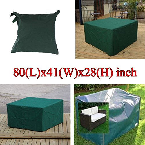 Article Furniture Underwrite - 205x104x71cm Garden Outdoor Furniture Waterproof Breathable Dust Cover Table Shelter - Covert Screening Piece Insure Covering Book Binding Masking - 1PCs