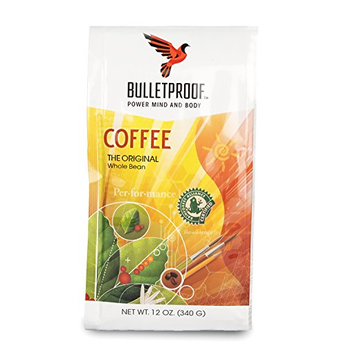 Bulletproof The Original Whole Bean Coffee, Upgraded Coffee Upgrades Your Day (12 (Ground Whole Bean Coffee)