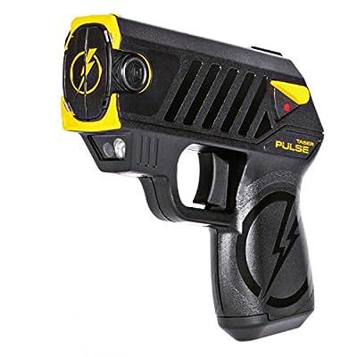 Pulse Taser with 2 Cartridges, LED Laser with/2 Cartridges, Holster and Target,Black
