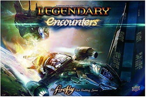 Legendary Encounters A Firefly Deck Building Game by Upper Deck: Amazon.es: Juguetes y juegos