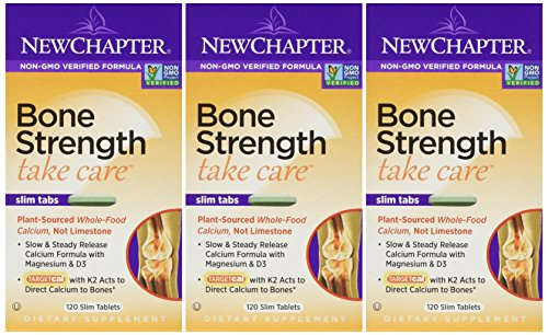 Care 120 Tabs - New Chapter - Bone Strength Take Care 120 Tabs Pack Of 3