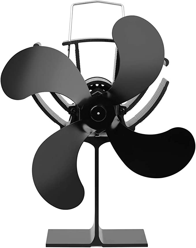 Lifet - Ventilador para chimenea (funciona con calor, funciona con ...