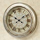 Touch of Class Calais Metal Wall Clock Light Bronze