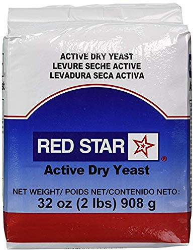 Red Star Active Dry Yeast, Value Size 1 Pack (2 Pound Ea) by Red Star