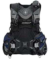 The Aqua Lung Axiom i3 scuba BCD is a jacket-style BCD using an innovative inflation system to replace traditional power inflators. Through this system, air dumping is achieved in any swimming position, while placing the power inflator in an ...