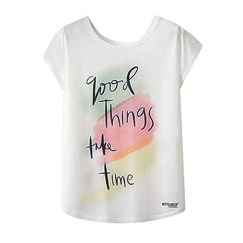 0a9365ad75be4d Women's Tops Jiayit Women's Fashion Geometric Animal Print O-Neck Short  Sleeve Loose T-
