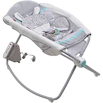 4024a7390 Amazon.com   Fisher-Price Deluxe Auto Rock  n Play Sleeper with ...
