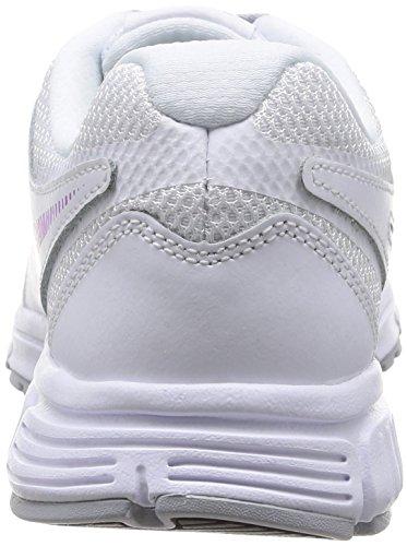 Eu Wmns fuchsia Glow Scarpe Nike Revolution White wolf Donna Grey Sportive x6EwR7qdS