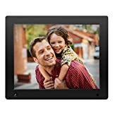 NIX Advance Digital Photo Frame 12 inch X12D. Electronic Photo Frame USB SD/SDHC. Digital Picture Frame with Motion Sensor. Remote Control and 8GB USB Stick Included