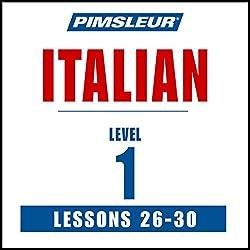 Italian Level 1 Lessons 26-30