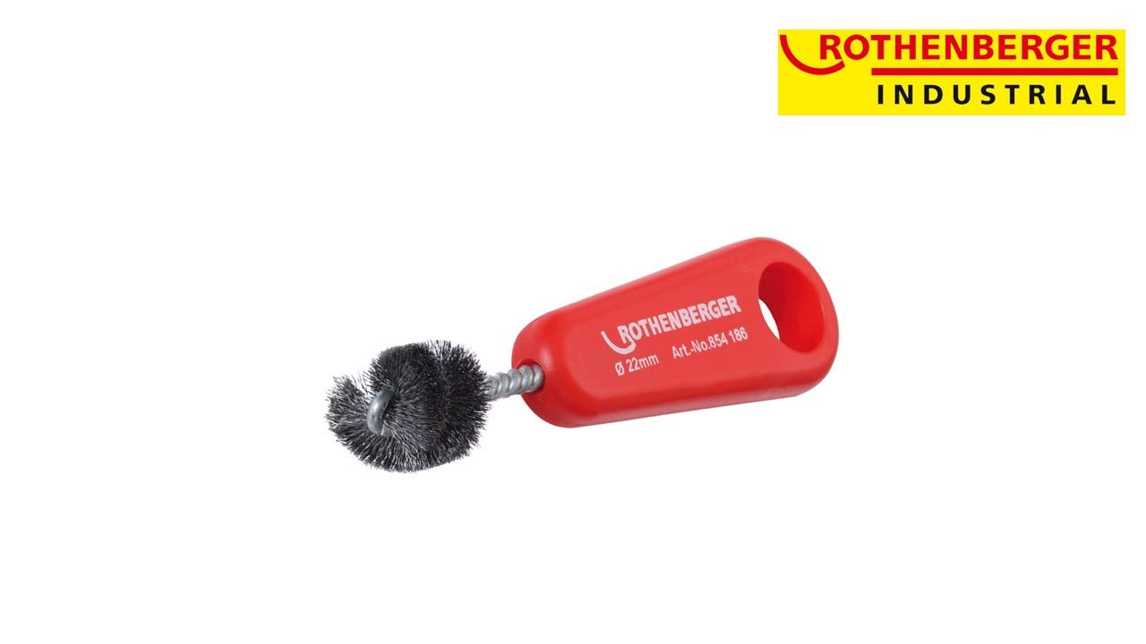 Rothenberger 854186 Kupferrohr-Innenb/ürste 22mm
