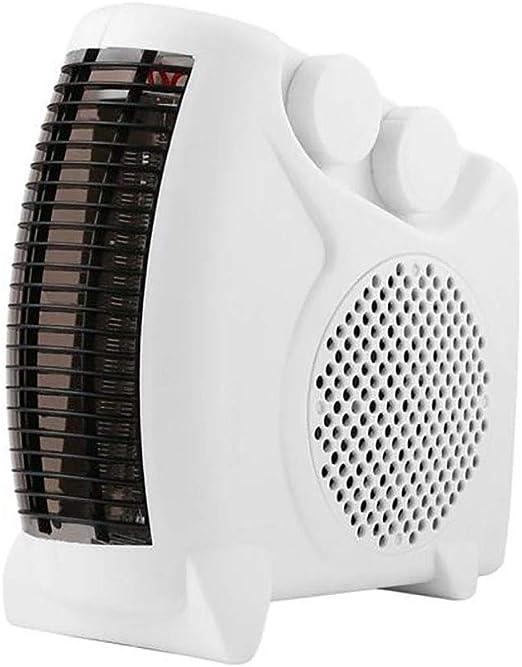LX&OOSM Calefactor De Ventilador Eléctrico Vertical/Plano De 1800W ...