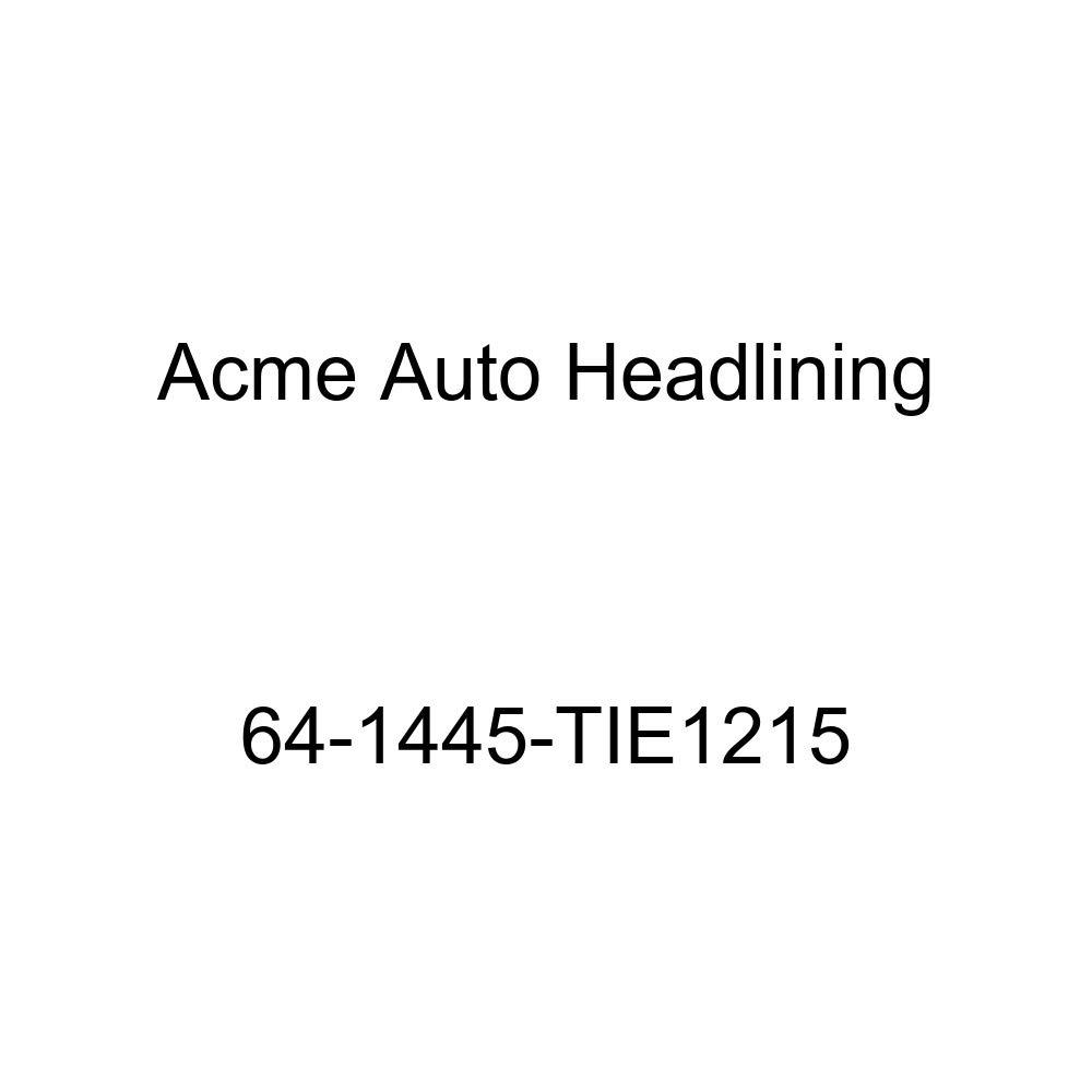 Acme Auto Headlining 64-1445-TIE1215 Turquoise Replacement Headliner Chevrolet Malibu 4 Door Sedan 5 Bow