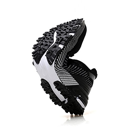 YMY Black 40 Women's Black Lightweight Breathable Shoes Casual Sneakers Running mesh Men's Sneakers rCqw1Zr7