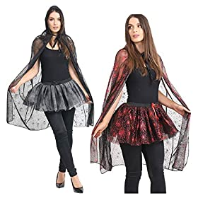 - 513jkjAB0AL - MA ONLINE Ladies Halloween Spider Web Costume Womens Night Out Fancy Dress Party Outfit
