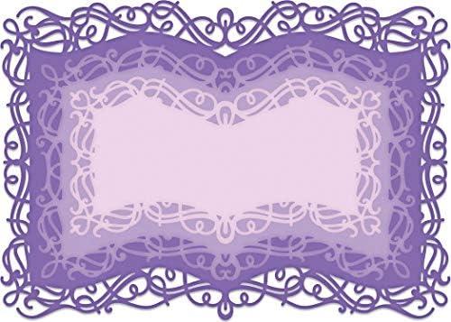 Heartfelt Creations Rahmen /& Akzente Stanzformen B/ücherrahmen 6,3 cm bis 17,8 cm