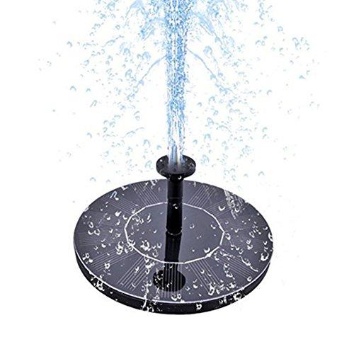zqasales Solar Water Fountain Solar Fountain Garden Fountain Artificial Outdoor Fountain For Home Family Garden Park Decoration (1.4W) by zqasales