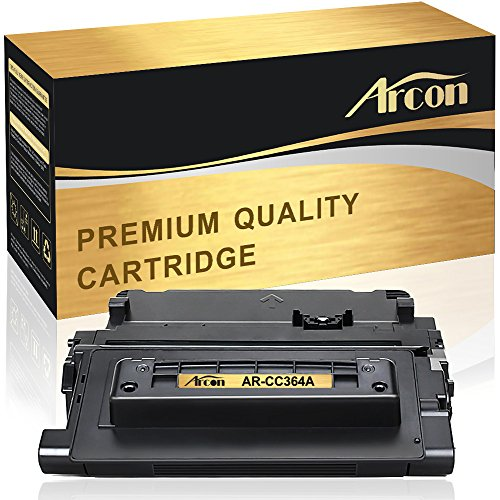 Arcon Compatibel for HP 64A CC364A Toner Cartridge Replacement for HP 64A CC364A HP Laserjet P4015n P4015x Toner HP LaserJet P4015n P4015x P4014, P4015n, P4015x, P4515n, P4515x Black Toner Printer Ink (P4015n Printer Laserjet Hp)