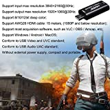 BlueAVS Audio Video Capture Cards HDMI to USB 1080p USB2.0 Record via DSLR Camcorder Action Cam