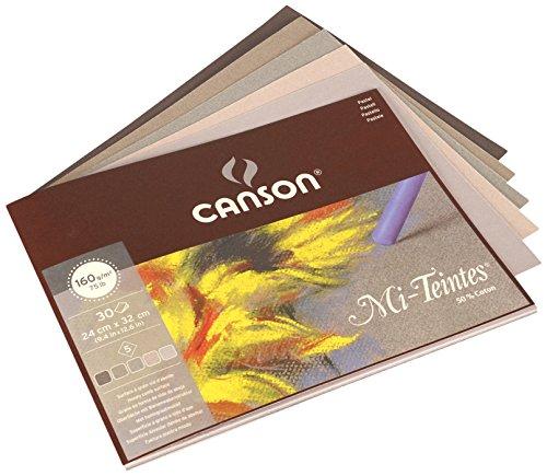 Mi Teintes Pad - Canson Mi-Teintes Grey Tones Pad - 24x32cm (30 sheets)