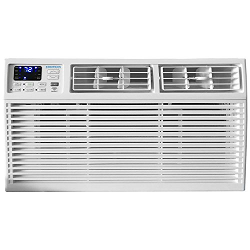 (Emerson Quiet Kool EARC8RSE1 8000 BTU 115V, White Window Air Conditioner with Remote Control with Smart Wi-Fi, WiFi)