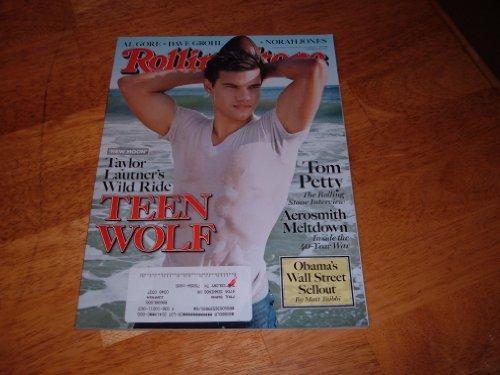 Rolling Stone December 10 2009 New Moon's Taylor Lautner, Tom Petty, Aerosmith Meltdown, Norah Jones (Issue 1093)