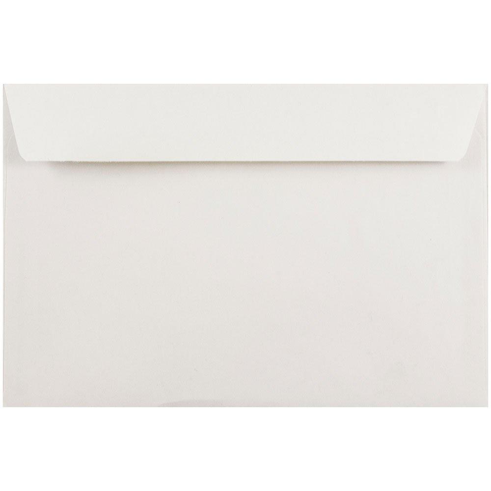 JAM Paper 6'' x 9'' Booklet Envelope - White - 1000/carton
