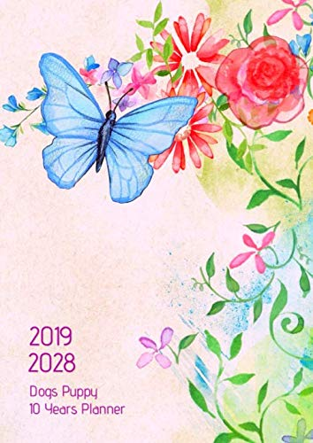 (10 Years Planner 2019-2028 A4 Flying Butterfly Goals Monthly Schedule Organizer: 120 Months Calendar; Ten Years Planner; Agenda Appointment Diary ... Notes, Julian Dates & Inspirational Quotes )