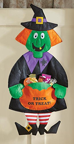 Halloween Witch Hanging Candy Holder -