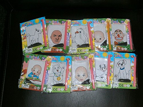 Pack of 6 Hairy Harry Magnetic Magic Boards Party Loot Bag