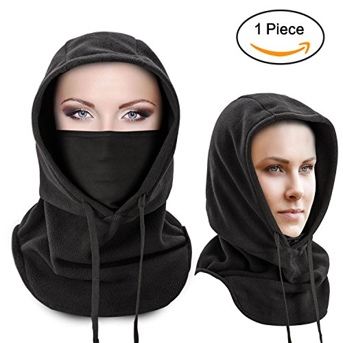 Windproof Ski Mask - Neck Warm Balaclava for Winter Outdoor Sports and Activities, Thermal Retention for Extreme Cold Weather - One - And Activities Sports Winter