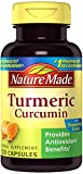 Nature Made Turmeric Curcumin 500 mg. Capsules (Antioxidant) Value Size 120 Ct
