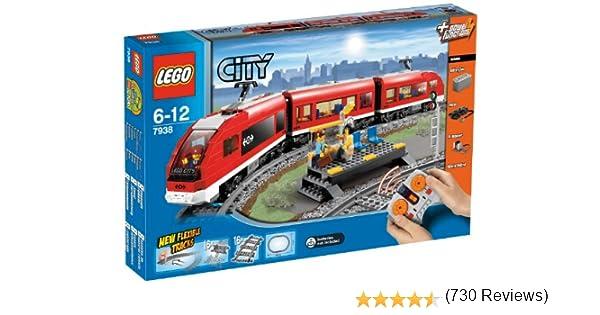 LEGO City - Tren de pasajeros (7938) (versión española): Amazon.es ...
