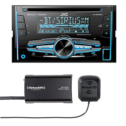 JVC KW-R920BTS Double DIN Bluetooth In-Dash Car Stereo, SiriusXM Tuner Included by JVC