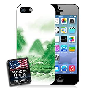 linJUN FENGRice Fields Mountain Fog Countryside Asia iPhone 4/4s Hard Case