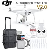 DJI Phantom 4 PRO V2.0/Version 2.0 Quadcopter Waterproof Rolling Case Starter Bundle
