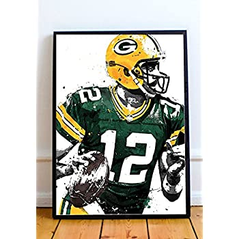 Aaron Rodgers Limited Poster Artwork - Professional Wall Art Merchandise (More (8x10)