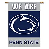 NCAA Penn State Nittany Lions 2-Sided 28-by-40 inch House Banner We Are Penn State with  Pole Sleeve