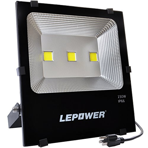 Lepower 150w new craft led flood lights super bright outdoor lepower 150w new craft led flood lights super bright outdoor security lights 750w halogen bulb equivalent ip66 waterproof 11000lm 6500k daylight white aloadofball Choice Image