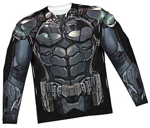 Costume -- Batman Arkham Knight All-Over Long-Sleeve T-Shirt, X-Large