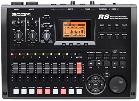 Zoom R8 Multi-Track Tabletop Recorder, Interface