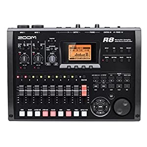 Zoom R8 Multi-Track Tabletop Recorder, Interface, Controller, 2 XLR Combo Inputs 8 Tracks, USB Audio Interface, Built In…