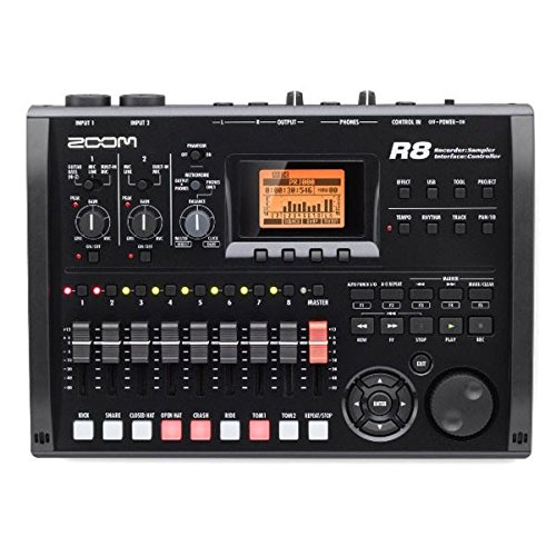 (Zoom R8 Multitrack SD Recorder Controller and Interface)